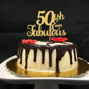 50ish for 50ish year old birthday Cake Topper