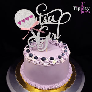 It's a Girl Cake Topper for Baby Shower
