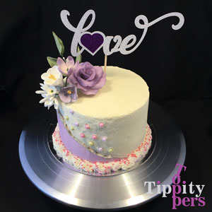 Love Cake Topper for Anniversary or St. Valentine